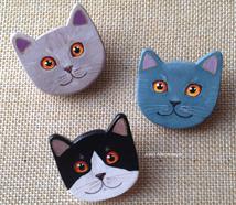 Three british cats